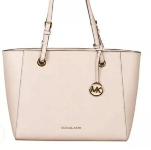 BEAUTIFUL NWT MICHAEL KORS PINK LEATHER TOTE